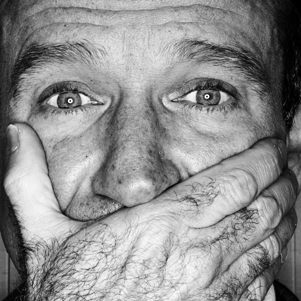 Robin Williams photographed in 1999