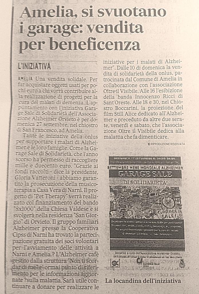 Il Messaggero dell'Umbria, Giovedì 24 Settembre 2015