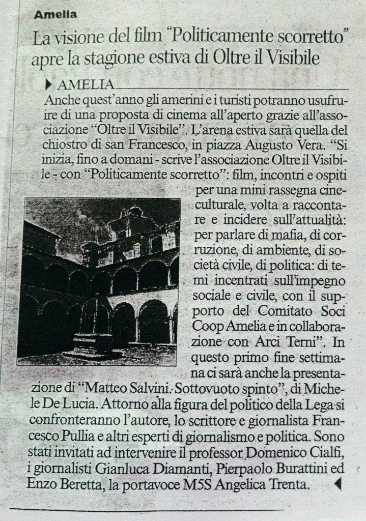 Corriere dell'Umbria, sabato 4 Luglio 2015