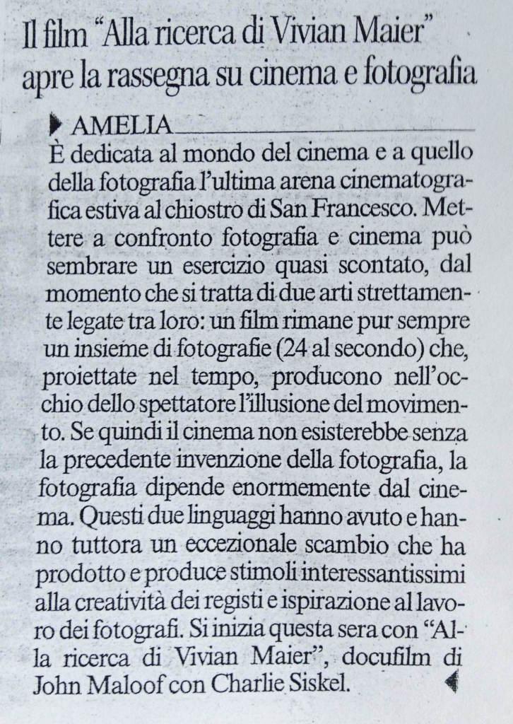 Corriere dell'Umbria, venerdì 28 Agosto 2015